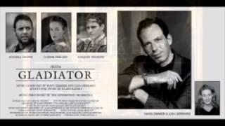 Hans Zimmer and Lisa Gerrard - GLADIATOR (Full soundtrack))