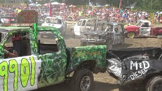 Comber Fair Demolition Derby 2018   Trucks