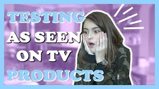 TESTING AS SEEN ON TV PRODUCTS