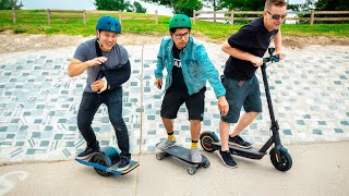 Best Electric Boards/Scooters of 2019?   OneWheel vs Boosted vs NineBot