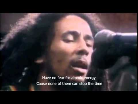 Bob Marley Redemption Songs Live in studio acoustic - Lyrics
