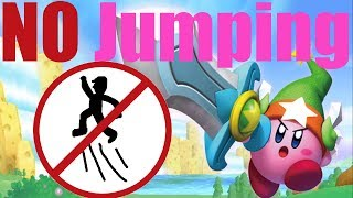 Is It Possible to Beat Kirby's Return to Dreamland Without Jumping? -No Jump Challenge