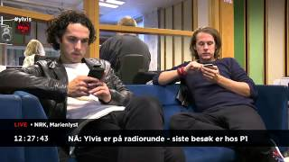 Ylvis Video - 24 Hours of Ylvis 9. Hours 13:34 - 10:50.