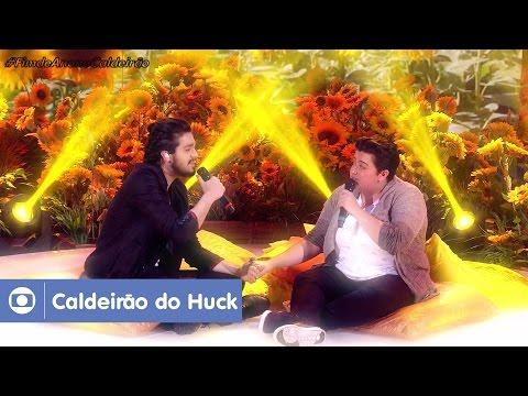 download lagu Luan Santana Canta 'Trem-Bala' Com Ana V gratis