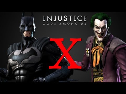 Batman x Coringa - Injustice Gods Among Us