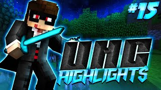 Minecraft UHC Highlights #15: POWER V FLAME I BOW