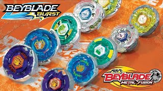 2009 VS 2019 Generation War | Original Metal Fusion VS Beyblade Burst Remakes Team Battle