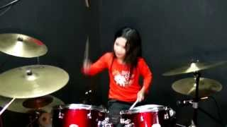 Download Lagu Suka Sama Kamu - D'Bagindas - Drum Cover by Nur Amira Syahira Gratis STAFABAND