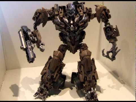 Transformers Dotm Leader Class Megatron Rotf Leader Class Megatron