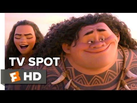 Moana Official Olympics TV Spot (2016) - Dwayne Johnson Movie