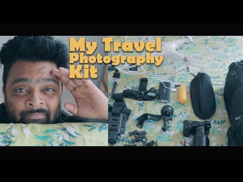 My Travel Photography Gear (Hindi) with English subtitles