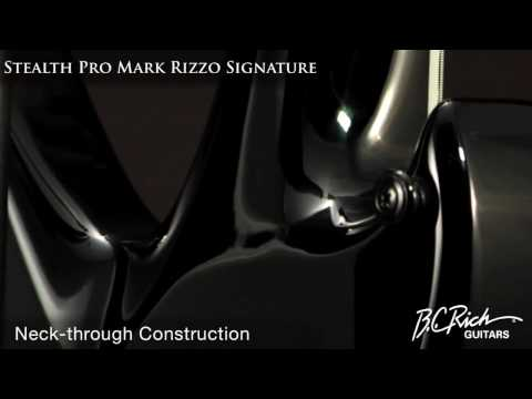 BC Rich Guitars Stealth Pro Marc Rizzo 7 String