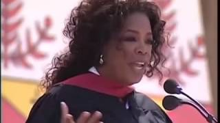 oprah winfreys 2008 stanford speech The former talk show star offers career and life advice at stanford graduate school of business teacher, shared oprah winfrey during her talk at stanford.