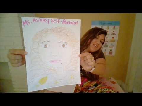 Self Portrait for Preschool; Distance Learning for Preschool