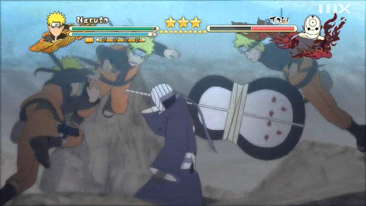 Ninja storm 3 full burst tobi obito uchiha boss battle final hd