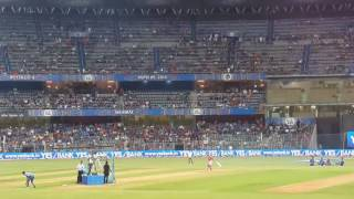 Sarfaraz khan 82 meter six in ipl challenge at Mumbai wankhede stadium
