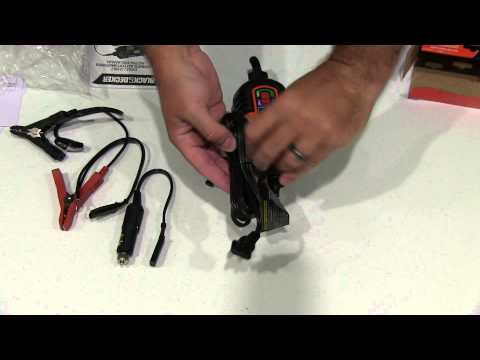 Black & Decker BM3B 6V and 12V Battery Charger Maintainer Unboxing