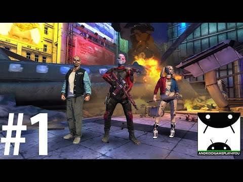Suicide Squad: Special Ops Android GamePlay #1 [60FPS] (Max Settings)