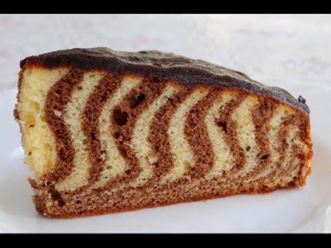 Зебра пирог быстро и вкусно рецепты с