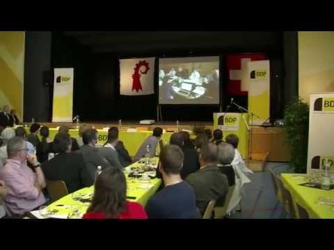 BDP Videonews Delegiertenversammlung Reinach 2014