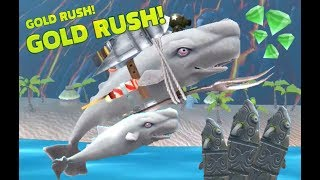 Hungry Shark Evolution - *MOBY DICK UNLOCK AND GAMEPLAY!!!* - *VOLCANO NEW UPDATE 2017*