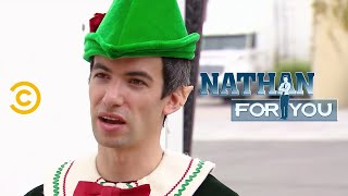 Nathan For You's Outrageous Mall Santa Stunts