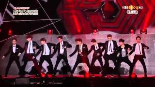 150128 EXO - Overdose @ Gaon Chart K-POP AWARDS