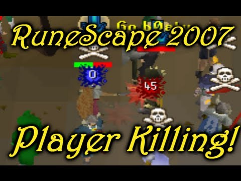 Runescape 2007 | B0aty - Player Killing in Edgeville