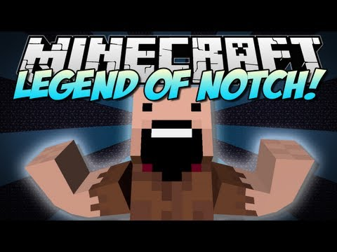 Minecraft   LEGEND OF NOTCH: REINCARNATION! (Huge RPG Mod!)   Mod Showcase [1.5.2]