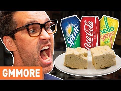 Mystery Soda Marshmallow Taste Test