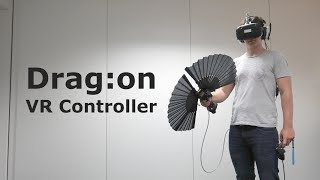 Drag:on - A VR Controller Providing Haptic Feedback Based on Drag and Weight Shift (ACM CHI 2019)