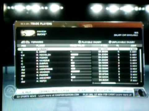 NHL 12 Be a GM Mode Ep. 2