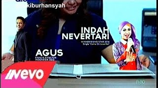 Pop Singer Star Media Nusantara - Indah Nevertari-Hanin Dhiya on Amazing Star SMN, 30
