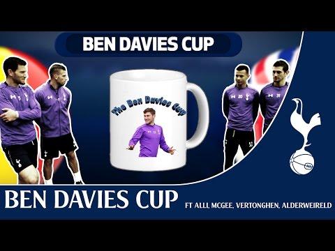 The BEN DAVIES CUP featuring Dele Alli, Luke McGee, Jan Vertonghen and Toby Alderweireld