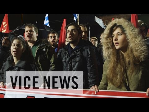 Austerity and Anger: Protests Against Syriza's EU Deal