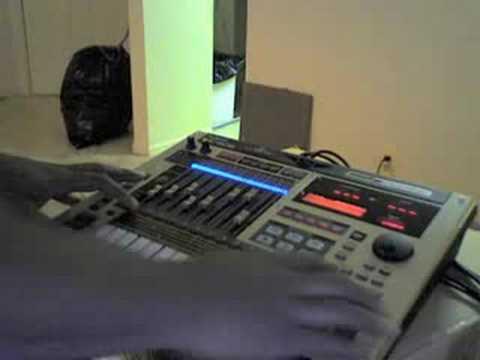 Closer Remix Ne-Yo Freestyle on the MC-808