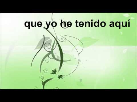 Sublime Gracia amazing Grace Karaoke En Español video