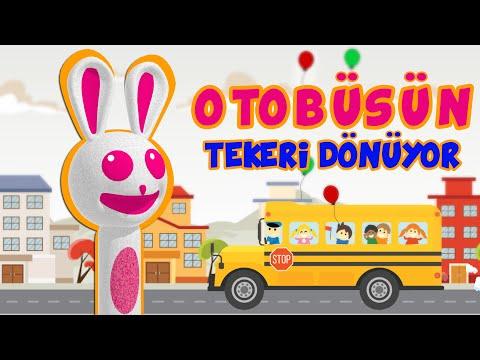 Otobüsün Tekeri Dönüyor | Sweet Tuti Bebek Şarkıları | Çizgi Film Çocuk Şarkıları