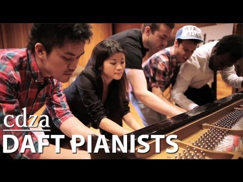 Daft Pianists (cover of Get Lucky)