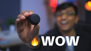 How GOOD is this $15 World's Smallest Speaker?