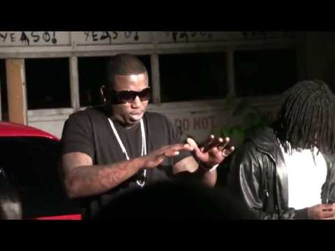 Atlbikelife Gucci Mane Chief Keef video shoot Darker