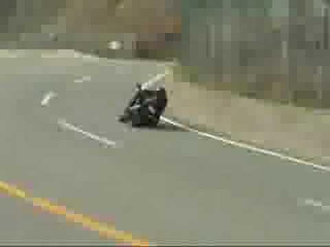 honda CBR1100XX Super BlackBird Cornering