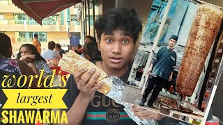 I Ate The Worlds Largest Shawarma In Dubai