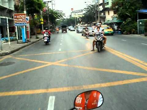 Bangkok taxi bike