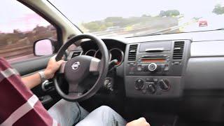 Caçador de Carros: Test Drive NISSAN TIIDA 6 marchas manual