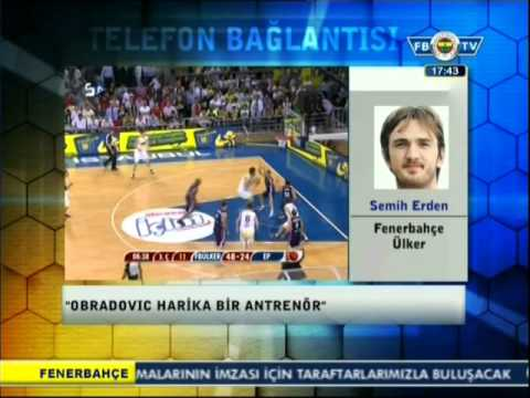 Semih Erden: Thy Euroleague^de Final Four'u zorlayacağız