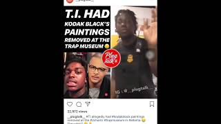 Kodak Black painting removed from Trap Museum