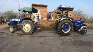 Swaraj 744 & farmtrack 60 t20 tractor tochan