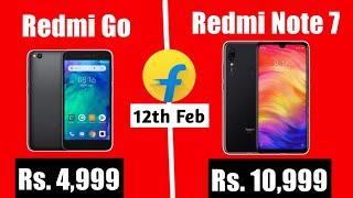 Redmi Note 7 & Redmi Go Price, Launch date in India  Colour & RAM variant leaked.