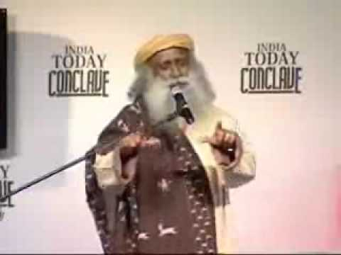 Sadhguru Jaggi Vasudev Speech At India Today Conclave 2008 video